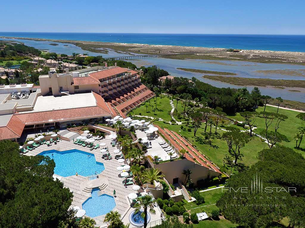 Ocean Views at Hotel Quinta Do Lago, Algarve, Portugal