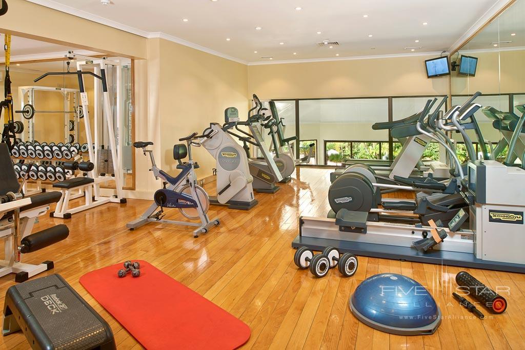 Gym at Hotel Quinta Do Lago, Algarve, Portugal