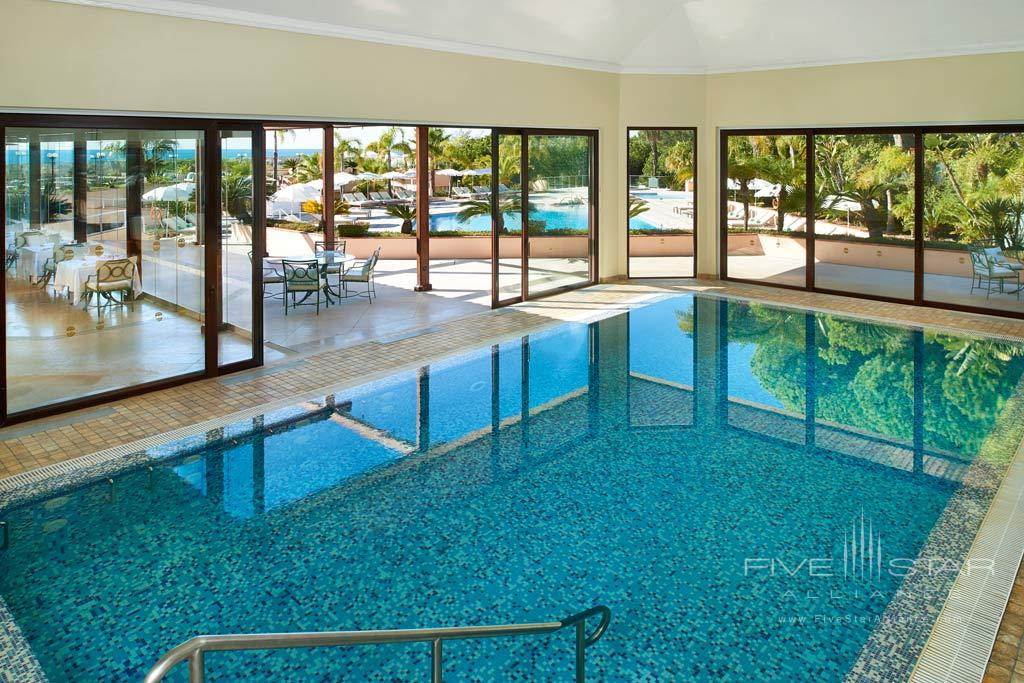 Indoor Pool at Hotel Quinta Do Lago, Algarve, Portugal