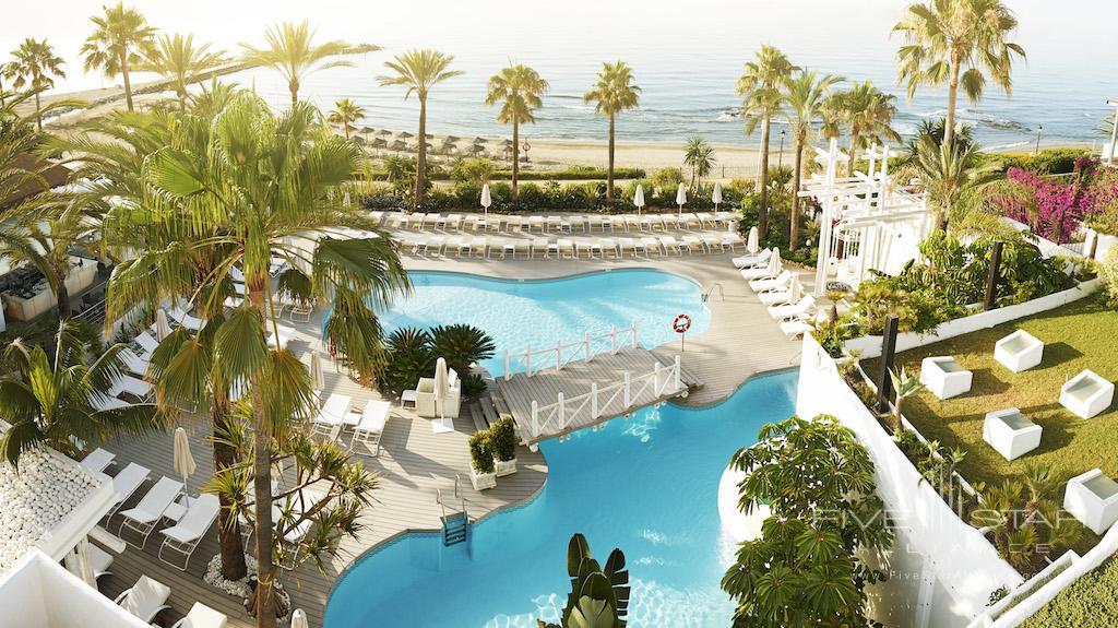 Pool at Puente Romano Hotel