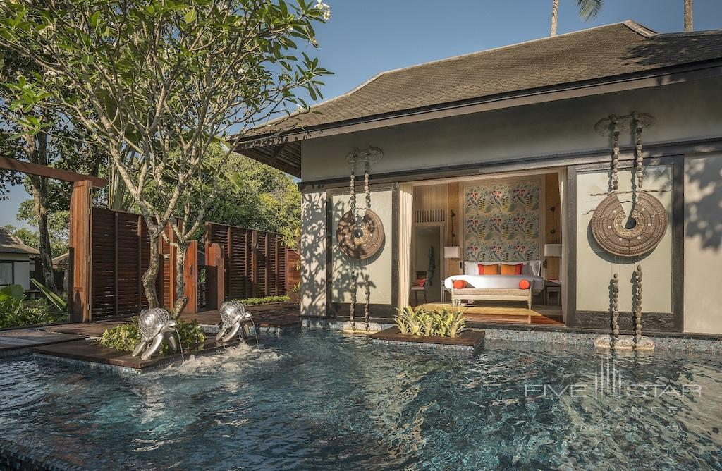 Exterior of the Two Bedroom Royal Villa by Jim Thompson