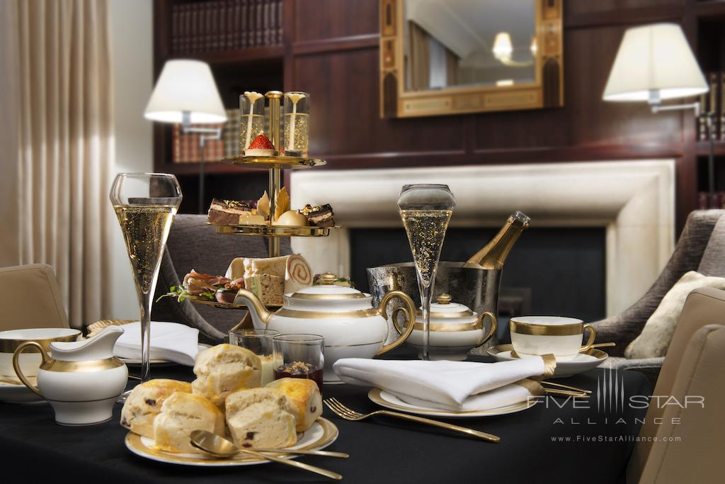 24 Karat Gold Afternoon Tea at Taj 51 Buckingham Gate