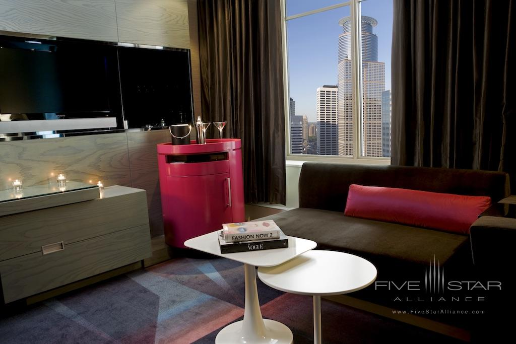 Fabulous King Room at the W Hotel Minneapolis - The Foshay