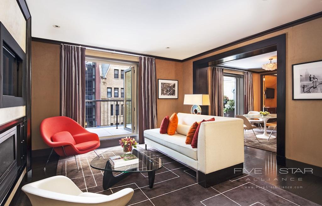 The Chatwal New York Producer Suite Living & Dining Rooms