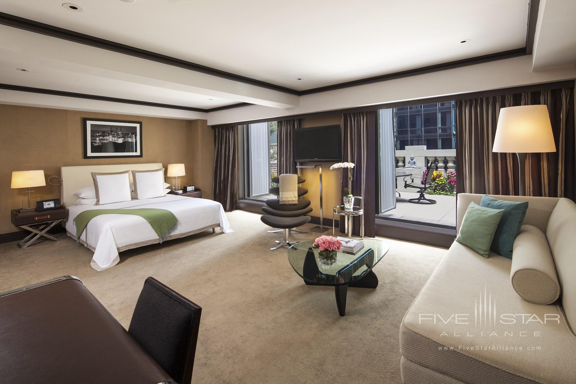 Junior Suite King with Terrace at The Chatwal New York City