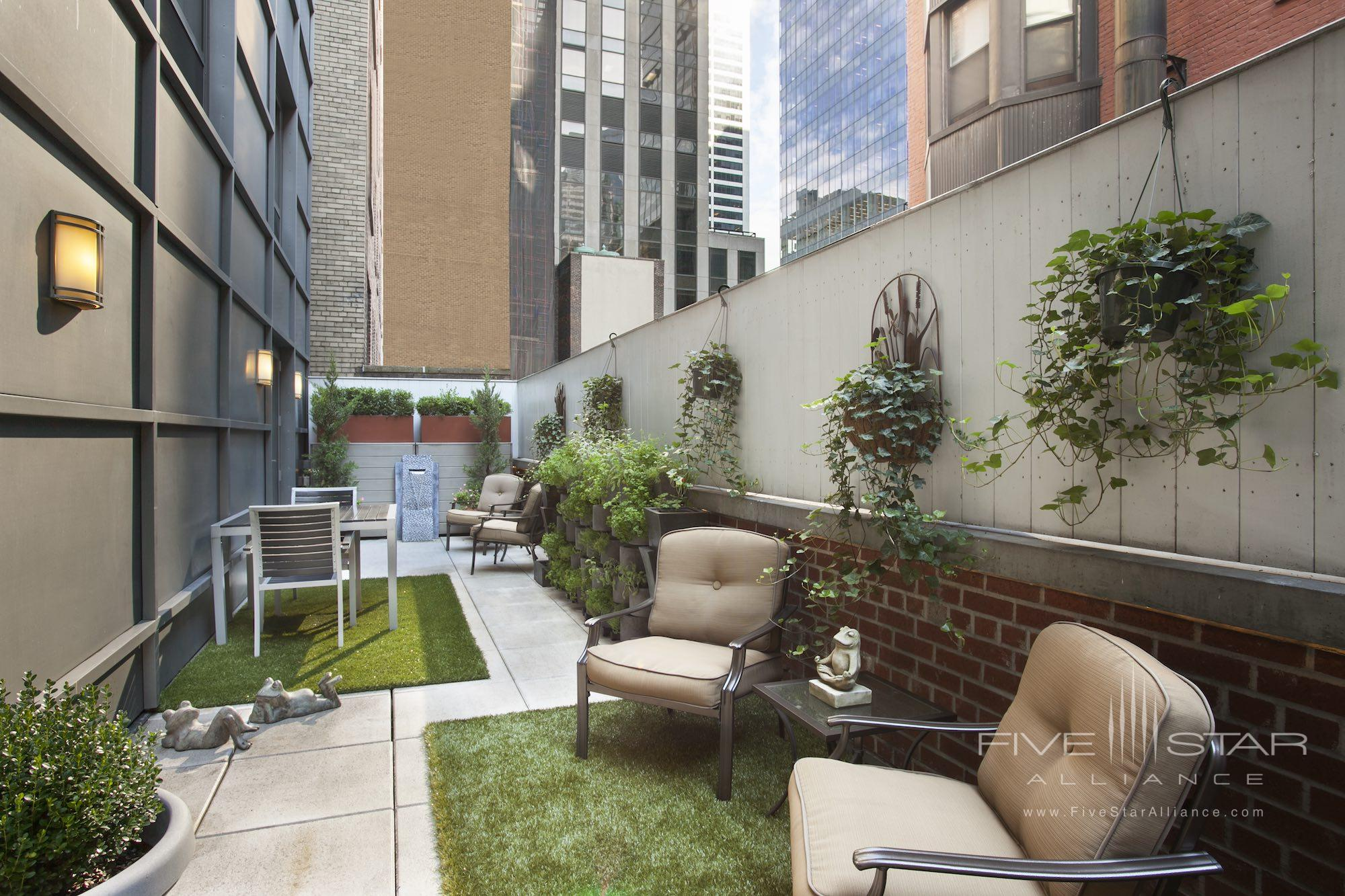 Garden Suite Private Terrace at The Chatwal New York City