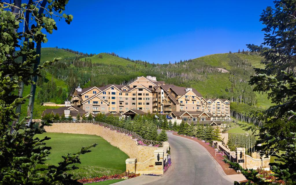Exterior of the Montage Deer Valley