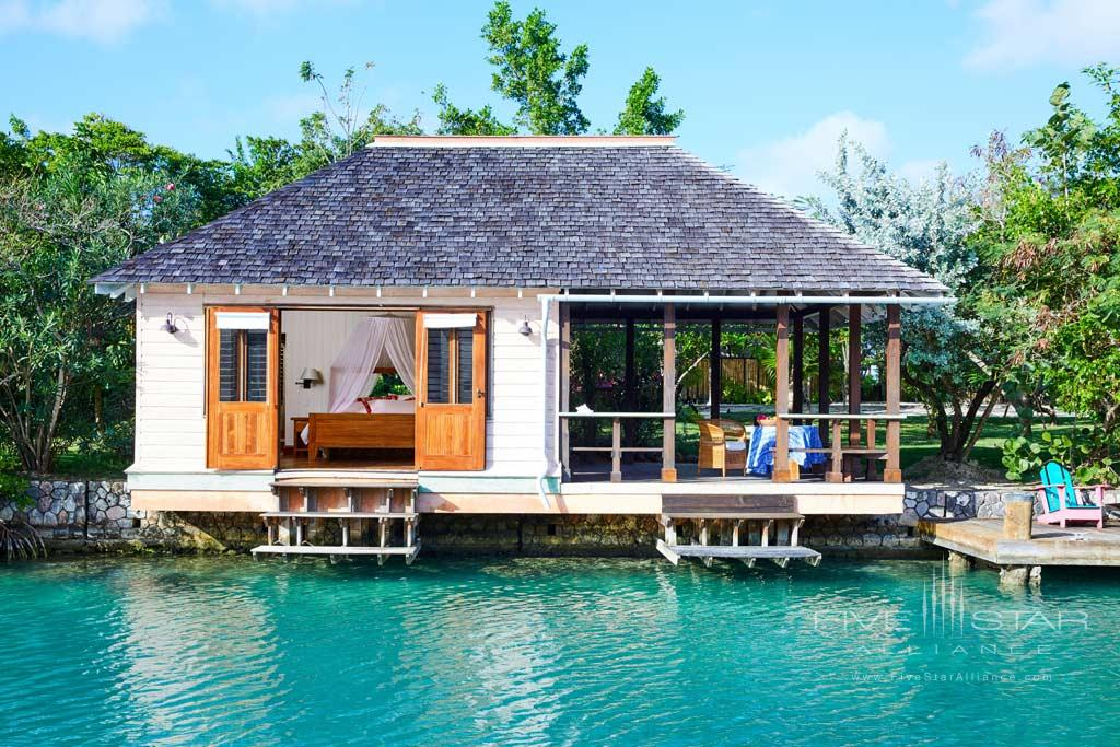 Lagoon Cottage at GoldenEye Hotel and Resort, St. Mary, Jamaica