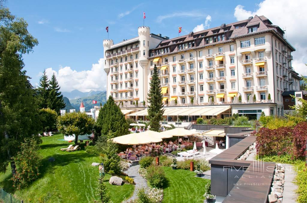 Gstaad Palace Hotel, Switzerland