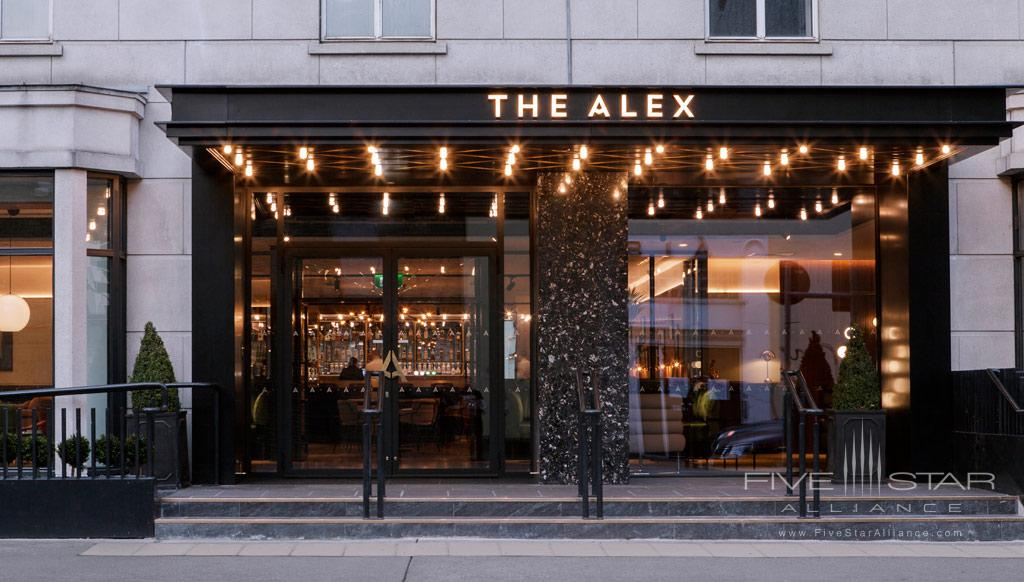 Entrance to The Alex, Dublin, Ireland