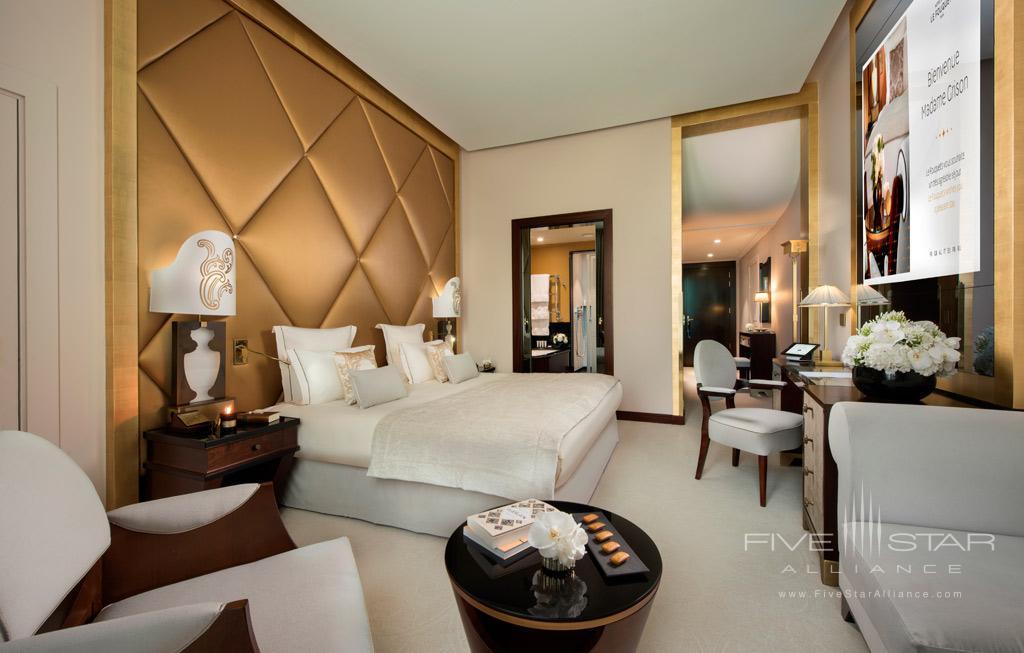 Guest Room at Hotel Fouquet's Barriere, Paris, France