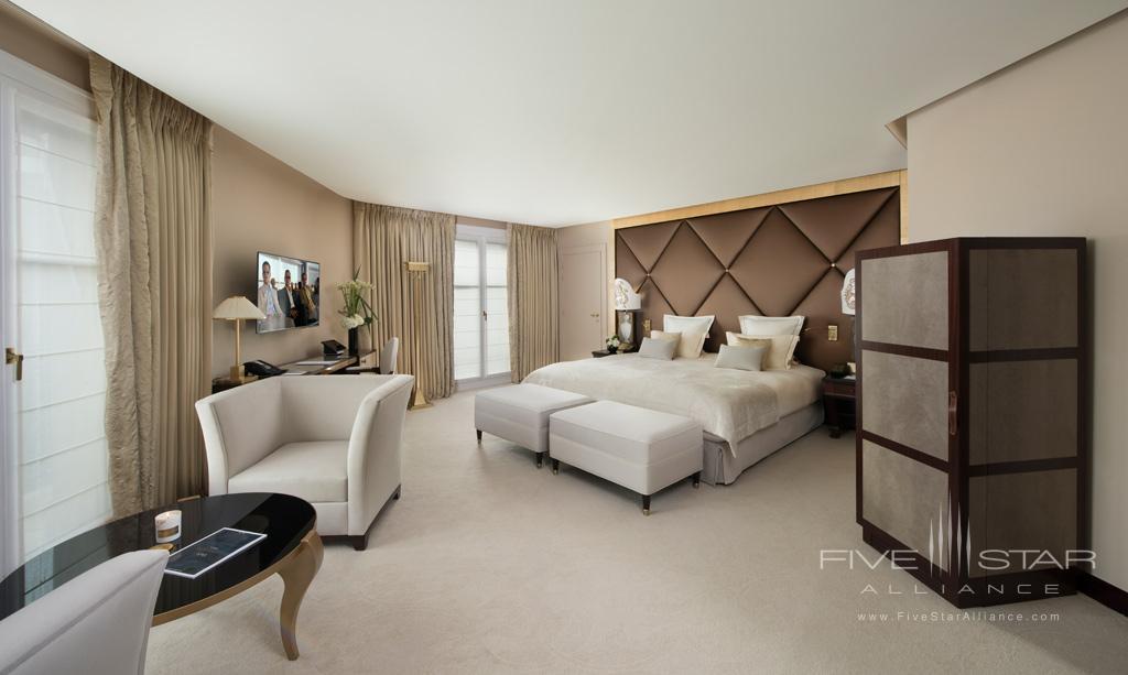 Junior Suite at Hotel Fouquet's Barriere, Paris, France
