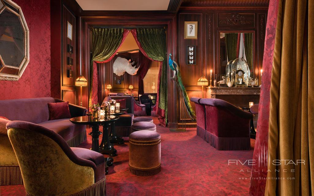 Lounge at Hotel Fouquet's Barriere, Paris, France