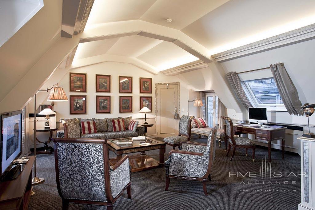 Suite Living at Hotel Napoleon Paris, France