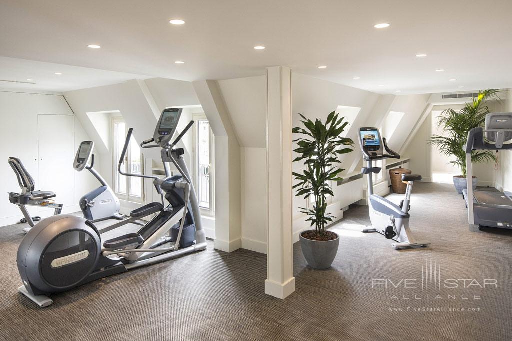 Gym at Hotel Napoleon Paris, France