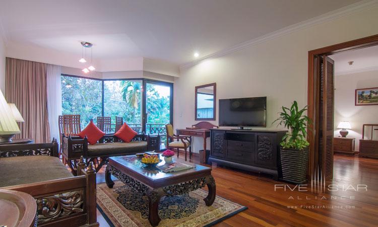 Suite Living at Angkor Palace Resort and Spa, Siem Reap, Cambodia