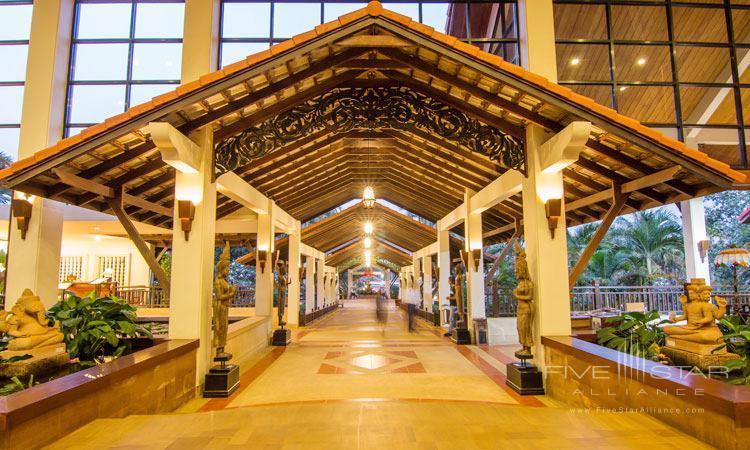 Enter Angkor Palace Resort and Spa, Siem Reap, Cambodia