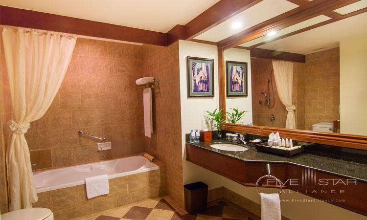 Guest Bath at Angkor Palace Resort and Spa, Siem Reap, Cambodia