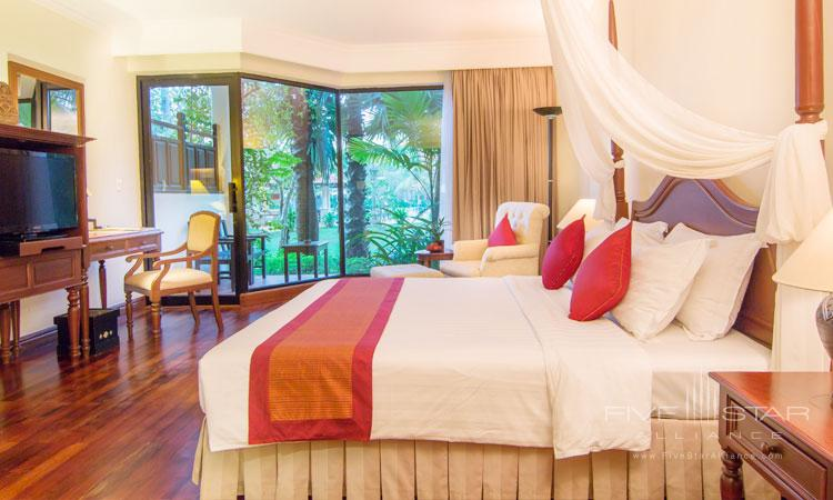Deluxe Guest Room at Angkor Palace Resort and Spa, Siem Reap, Cambodia