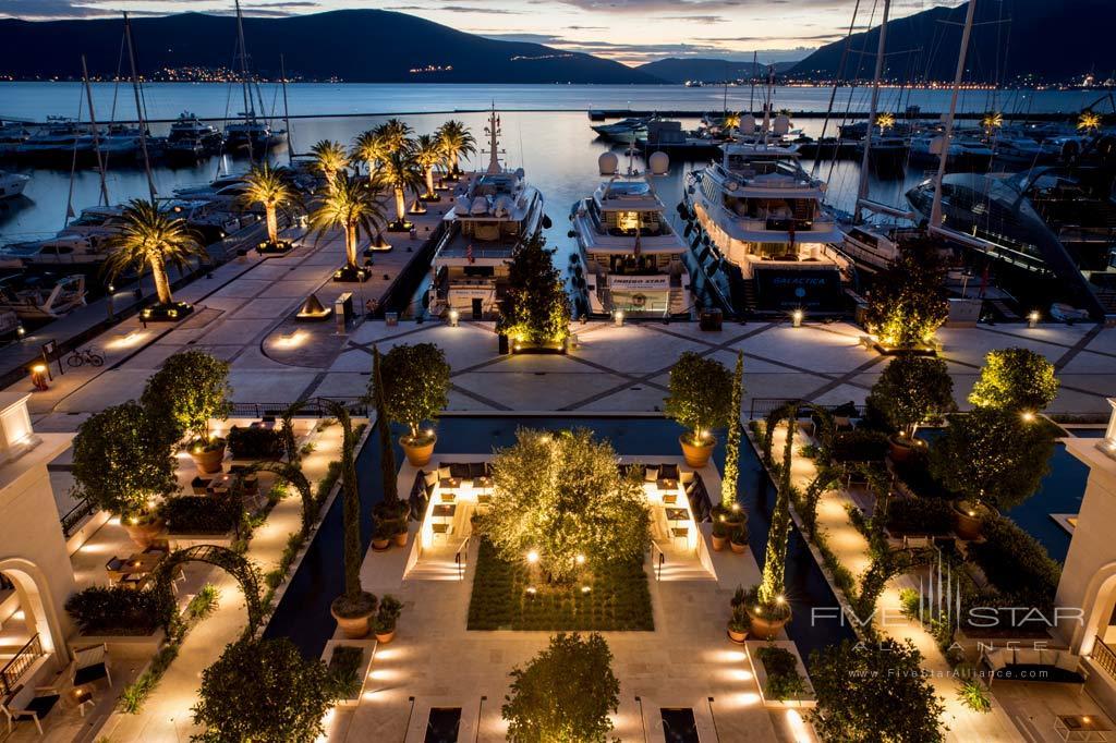 Italian Gardens at Regent Porto Montenegro, Tivat, Montenegro