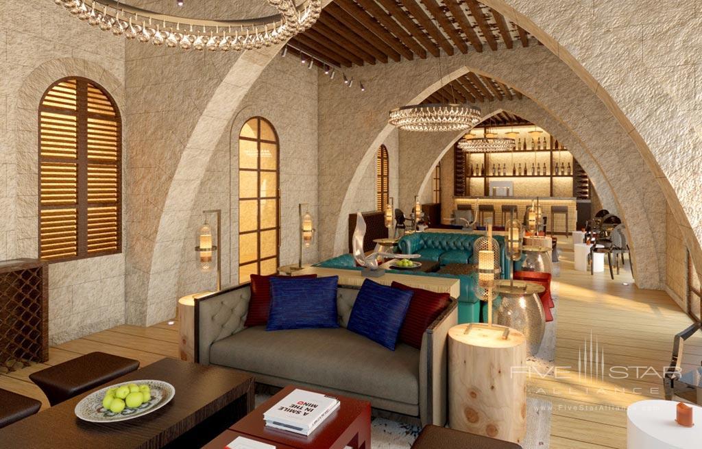 Lounge and Bar at The Setai Tel Aviv, Israel