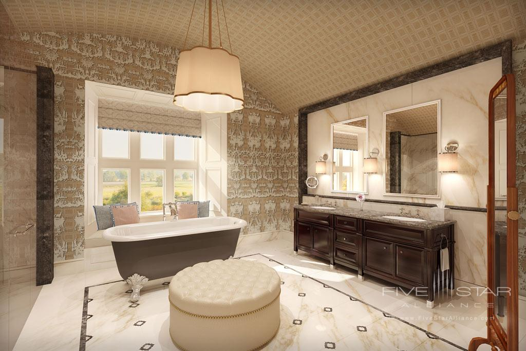 Guest Bath at Adare Manor Hotel and Golf Resort, County Limerick, Ireland