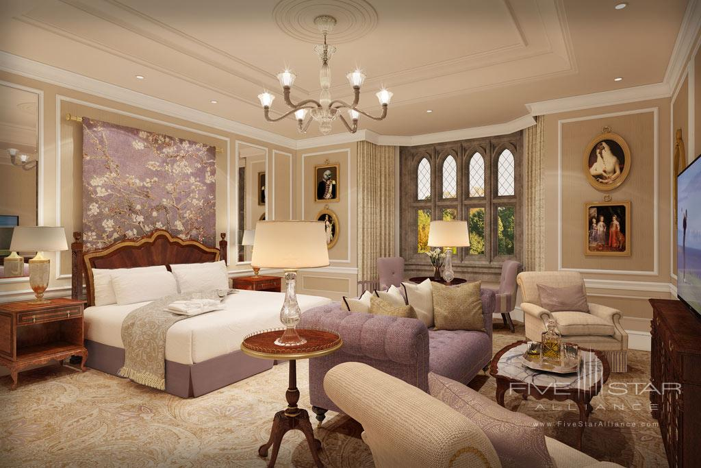 Deluxe West Wing Guest Room at Adare Manor Hotel and Golf Resort, County Limerick, Ireland