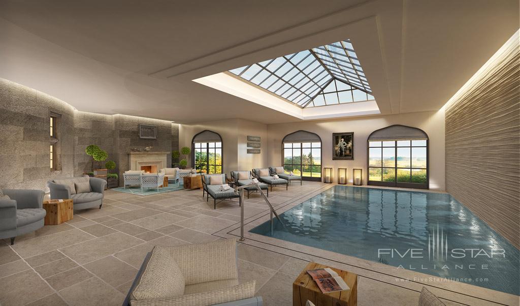 Indoor Pool at Adare Manor Hotel and Golf Resort, County Limerick, Ireland