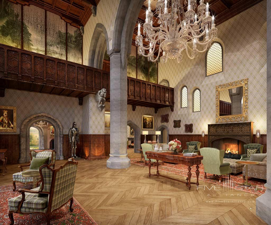 Great Hall at Adare Manor Hotel and Golf Resort, County Limerick, Ireland