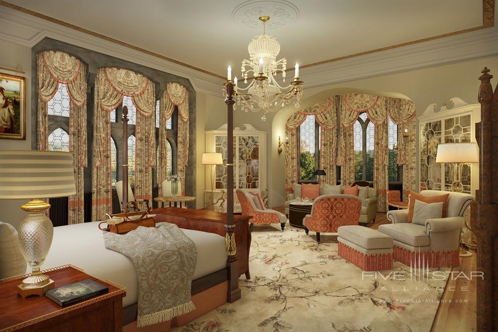 The Dunraven Stateroom at Adare Manor Hotel and Golf Resort, County Limerick, Ireland