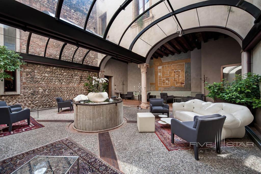 Lounge at Palazzo Victoria, Verona, Italy