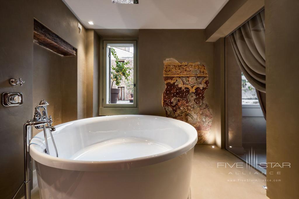 Suite Bath at Palazzo Victoria, Verona, Italy