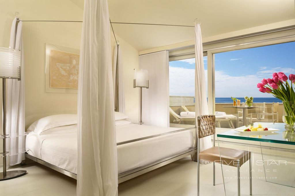 Superior Balcony Guest Room at Grand Hotel Principe di Piemonte, Viareggio LU, Italy