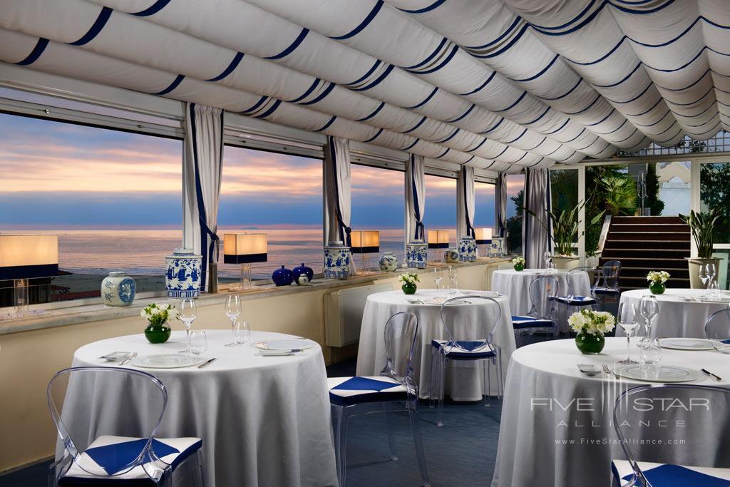 Restaurant ll Piccolo at Grand Hotel Principe di Piemonte, Viareggio LU, Italy