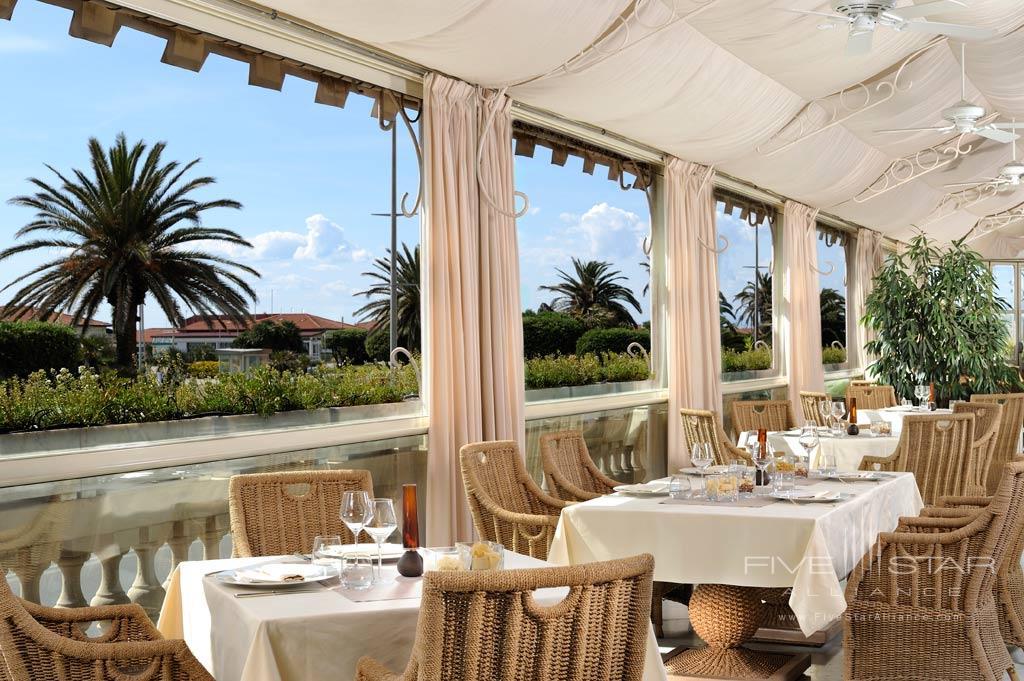 Restaurant Regina at Grand Hotel Principe di Piemonte, Viareggio LU, Italy