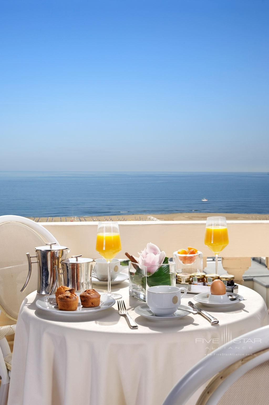 Have a Quiet Room Service Order at Grand Hotel Principe di Piemonte, Viareggio LU, Italy