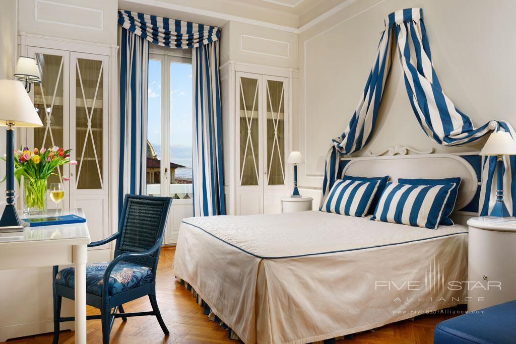 Superior Side Sea View Guest Room at Grand Hotel Principe di Piemonte, Viareggio LU, Italy