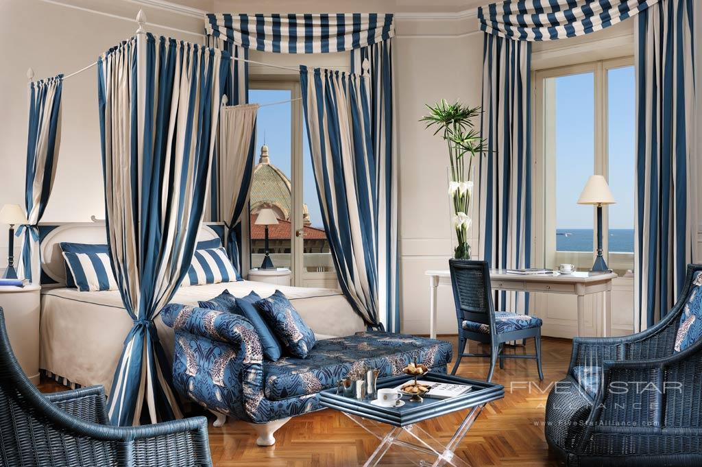 Sea View Three Bedroom Suite at Grand Hotel Principe di Piemonte, Viareggio LU, Italy