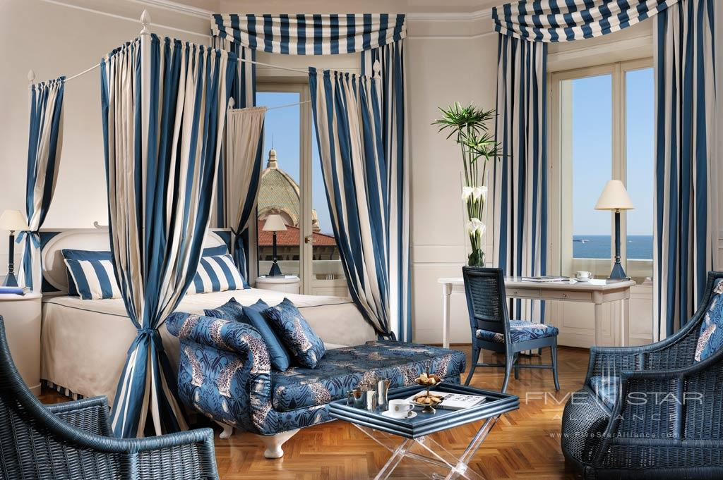Sea View Three Bedroom Suite at Grand Hotel Principe di Piemonte, Viareggio LU, Italy
