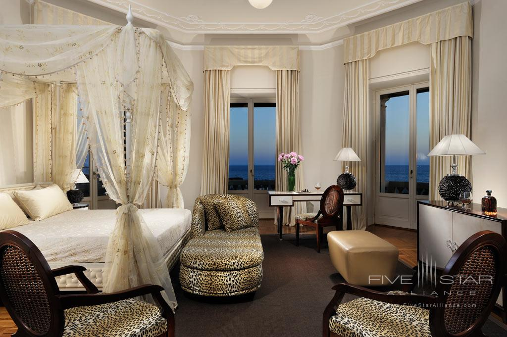 Sea View Balcony and Jacuzzi Junior Suite at Grand Hotel Principe di Piemonte, Viareggio LU, Italy