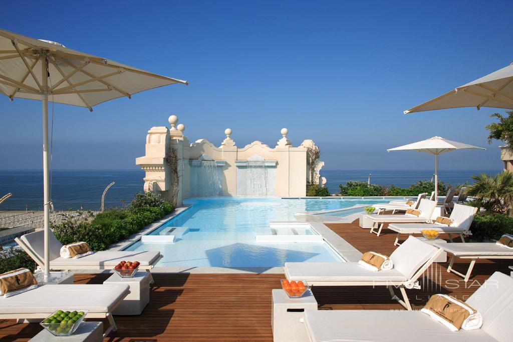 Outdoor Pool at Grand Hotel Principe di Piemonte, Viareggio LU, Italy