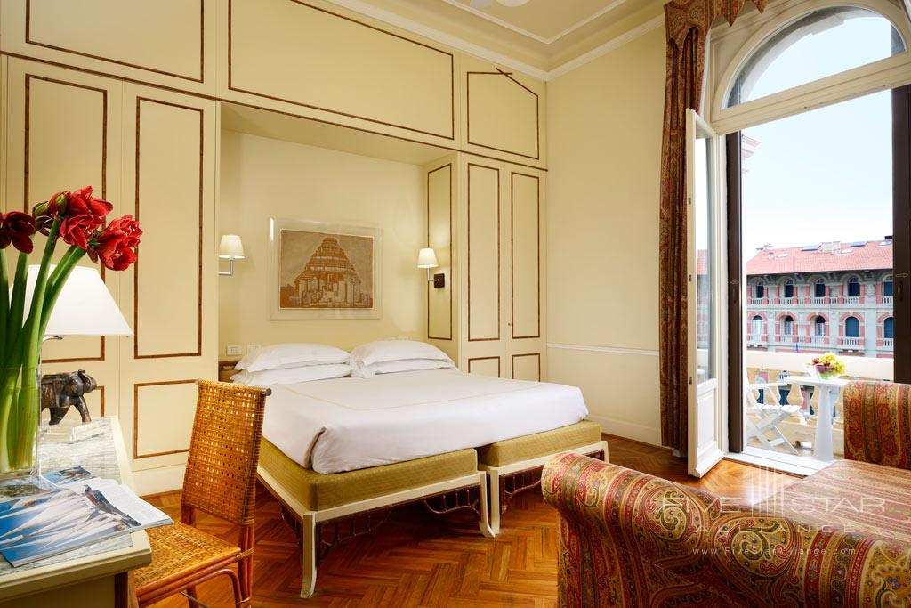 Deluxe Side Sea View Guest Room at Grand Hotel Principe di Piemonte, Viareggio LU, Italy