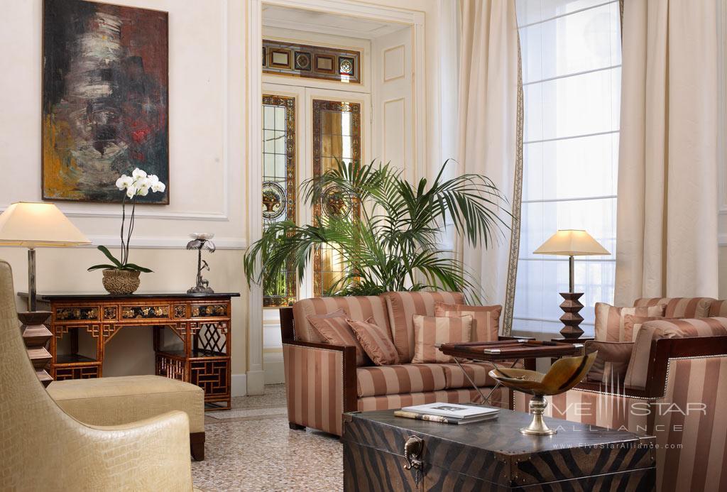 Lounge at Grand Hotel Principe di Piemonte, Viareggio LU, Italy