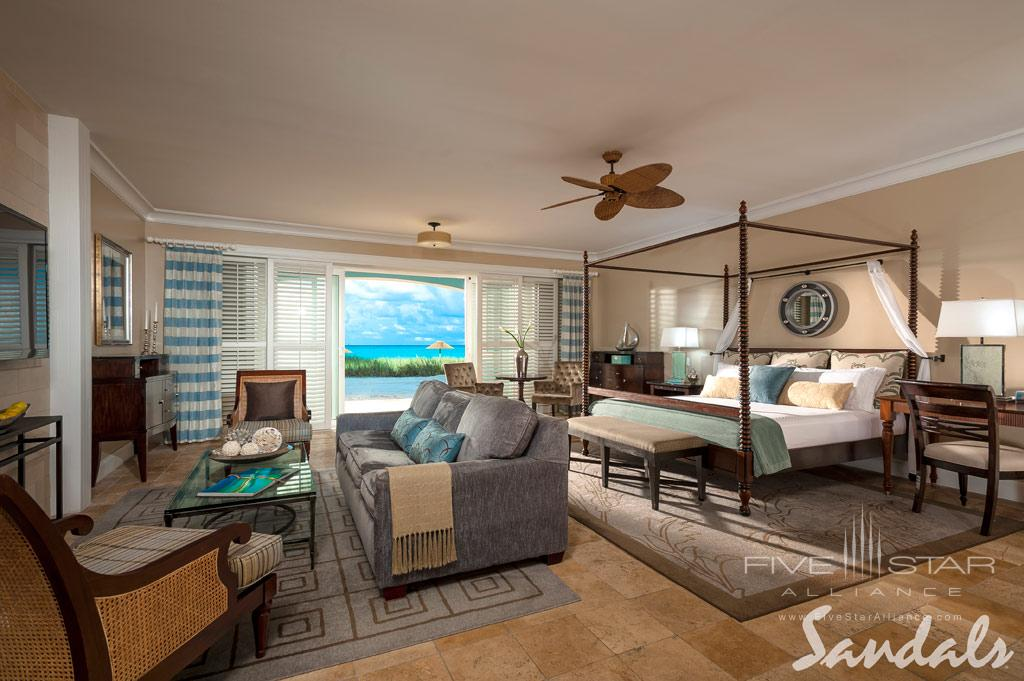 Guest Room at Sandals Emerald Bay, Great Exuma, Bahamas