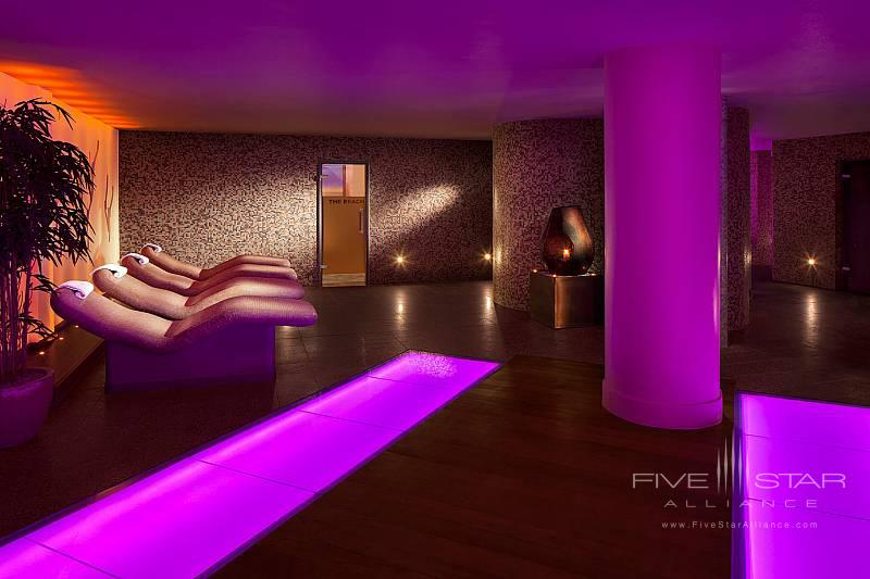 Spa Thermal Heated Loungers at The Galmont Hotel & Spa, Galway, Ireland