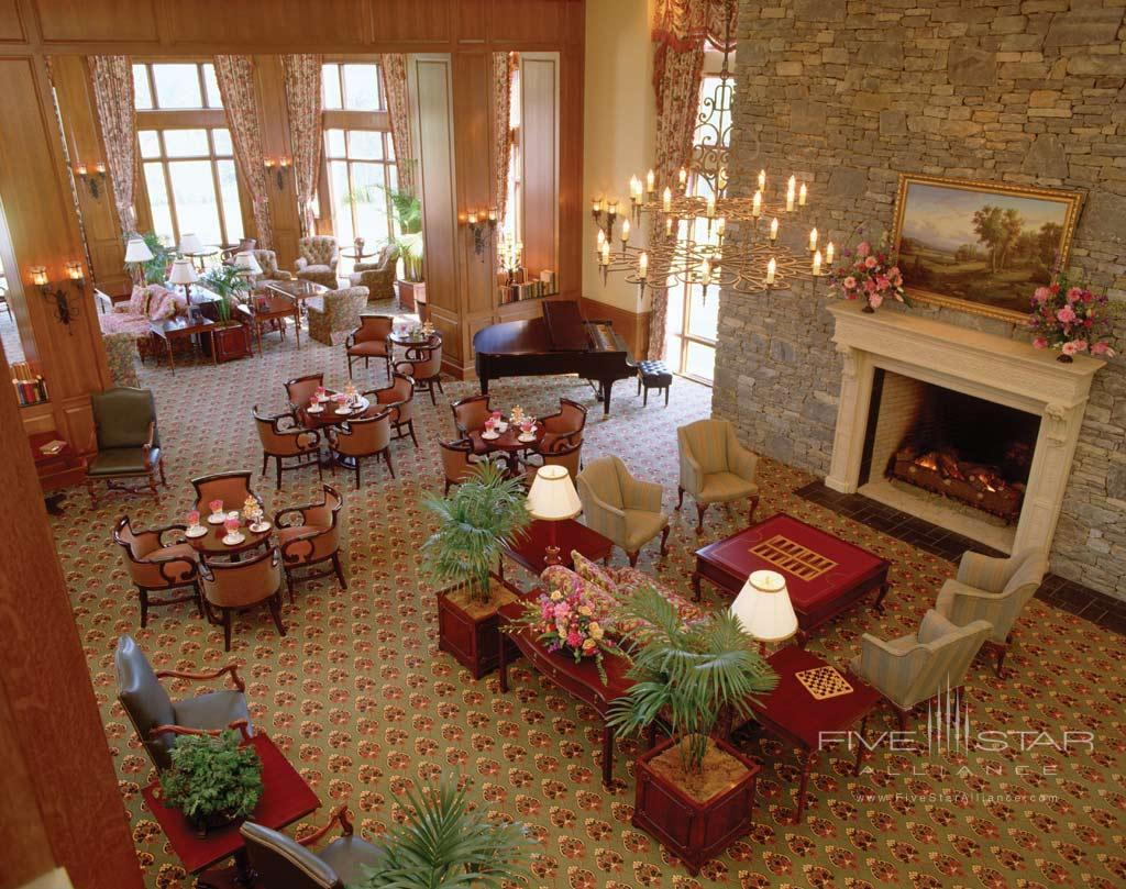 Lobby and Lounge at Inn on Biltmore Estate, Asheville, NC
