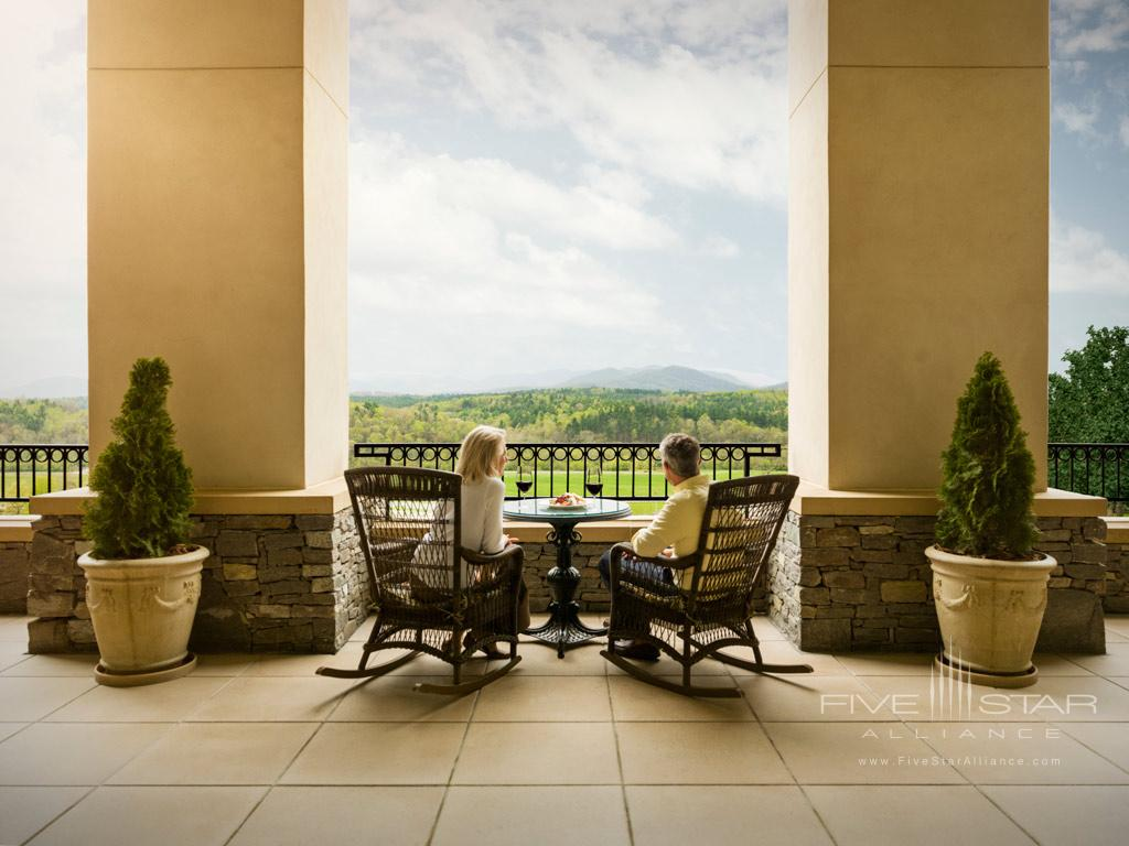 Lounge with Views at Inn on Biltmore Estate, Asheville, NC