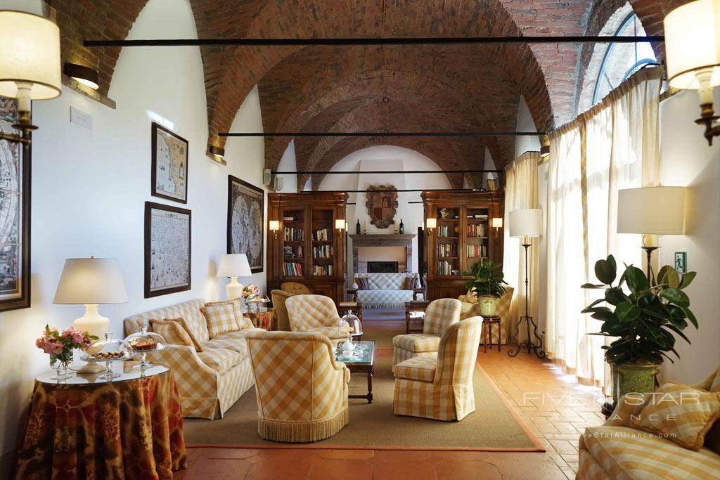 Reading Room at Castello Banfi - Il Borgo, Montalcino, Siena, Italy