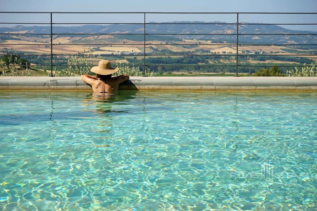 Outdoor Pool at Castello Banfi - Il Borgo, Montalcino, Siena, Italy