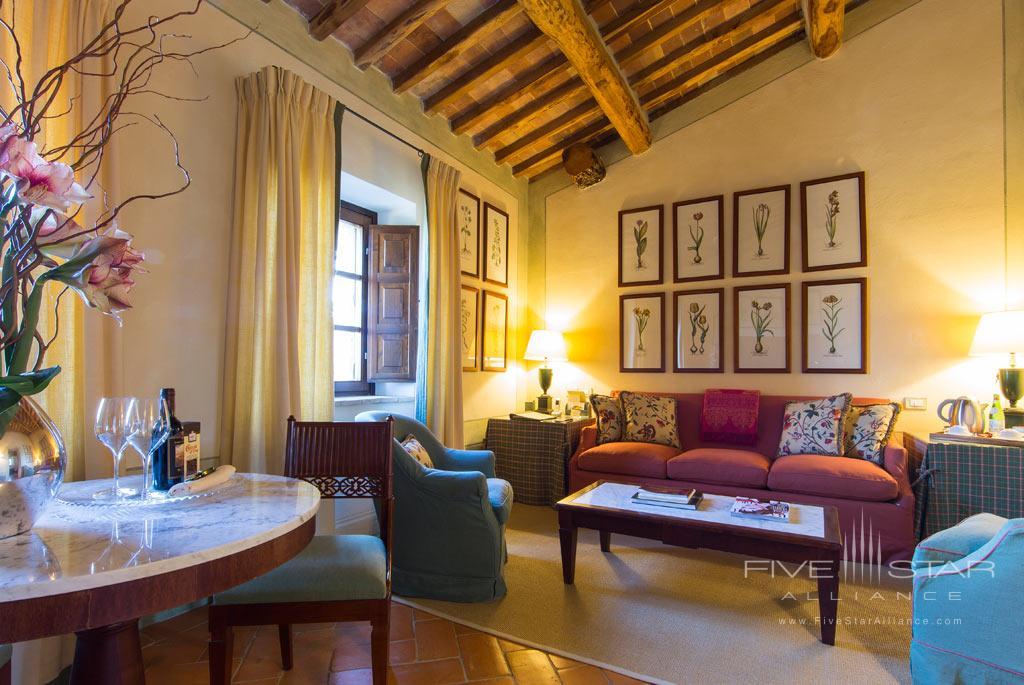 Suite Riserva at Castello Banfi - Il Borgo, Montalcino, Siena, Italy